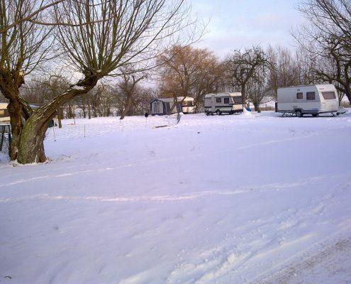 kamperen in de winter camping 't sluisj