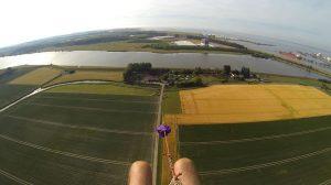 Luchtfoto minicamping 't sluisje